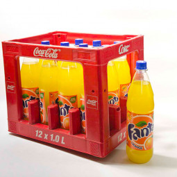 Fanta Orange PET 12x1L