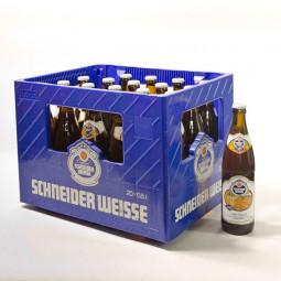 Schneider Weißbier Tap 7 Bernsteinsfarben 20x0,5L